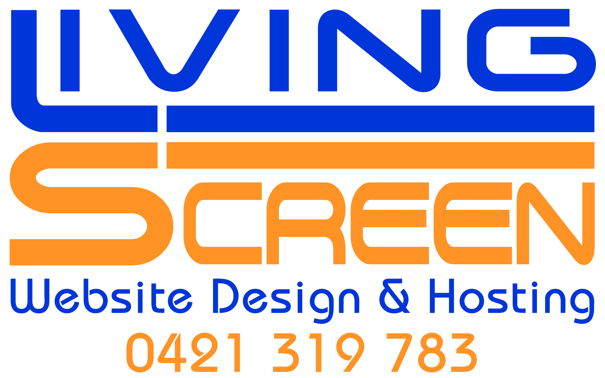 Living Screen Website Design